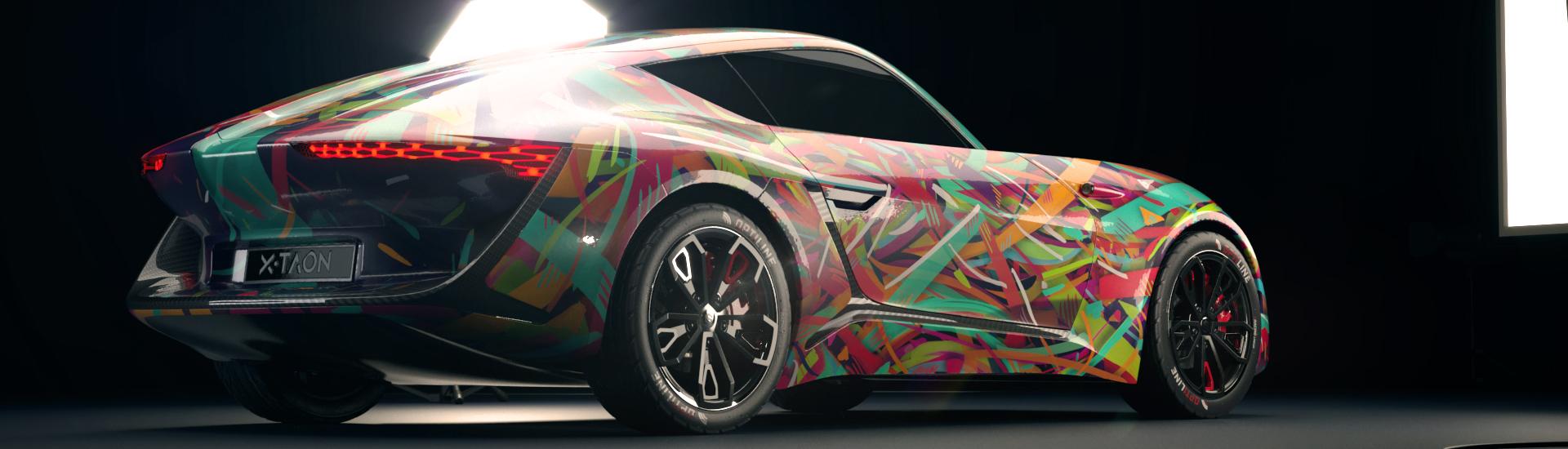 X-TAON: Art Car